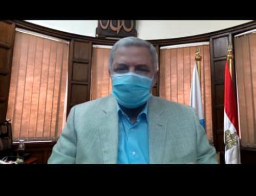 بالفيديو كونفراس.. رئيس الشركة القابضة يطلق الخطة الاقليمية للتدريب الالكتروني لشركات مياه الشرب والصرف الصحى