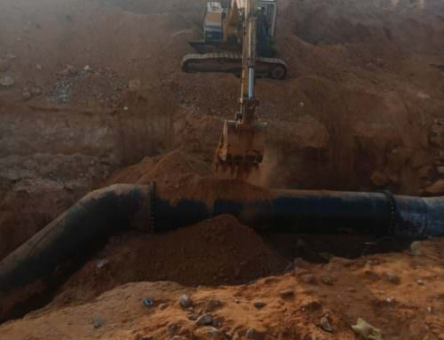أعلنت  شركة مياه الشرب والصرف الصحي بالجيزة عن إنتهاء أعمال تحويل خط مياه قطر 1000 مم القادم من محطة اكتوبر الجديدة.